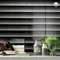 "Shades of Blinds | Black | 4"" x 12"" 